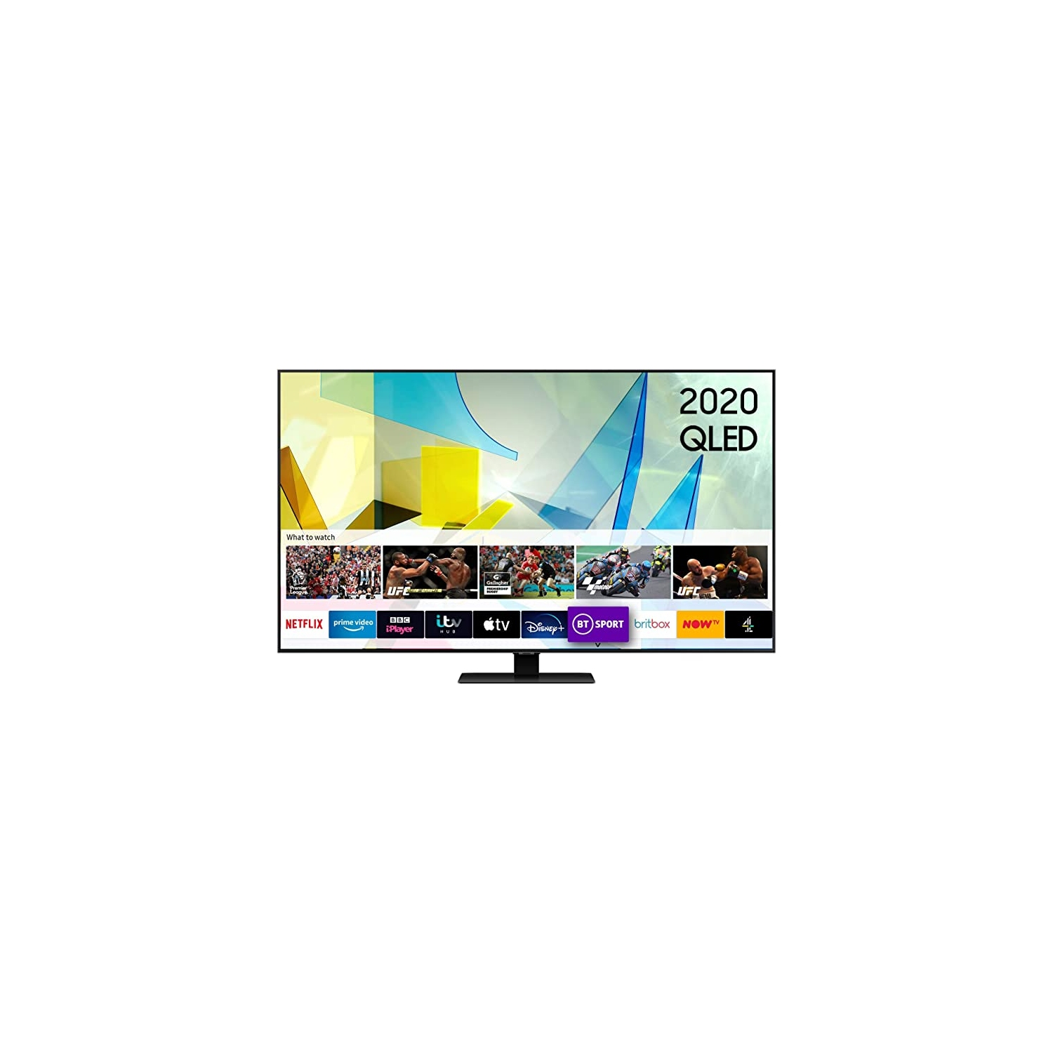 "Samsung QE50Q80T 50"" QLED 4K UHD Smart TV2020- 2021 MODEL - 0"