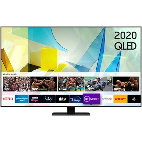 "Samsung QE50Q80T 50"" QLED 4K UHD Smart TV2020- 2021 MODEL"