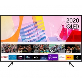 "Samsung QE58Q60T 58"" Smart 4K Ultra HD HDR QLED TV with Bixby, Alexa & Google Assistant"
